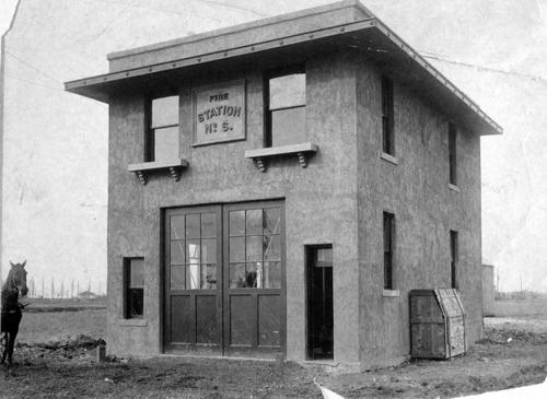 Salt Lake Tribune archive  Salt Lake fire station No. 6 circa 1900.