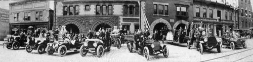 Salt Lake Tribune archive  Salt Lake fire station No.1 circa 1900.
