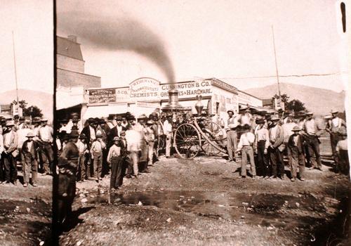 Salt Lake Tribune archive  Park City fire station.