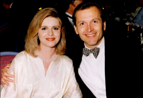 Michele and Martin MacNeill, seen here in an undated family photo, were the parents of eight children, including four daughters they adopted from Ukraine.