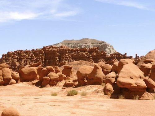 Emery County and State Parks officials spent the week of Oct. 23 investigating an incident in which two Boy Scout leaders pushed over a rock formation at Goblin Valley State Park.