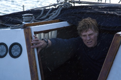 "Robert Redford stars in the seagoing survival drama ""All Is Lost."" Daniel Daza  