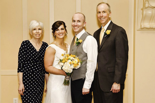 | Courtesy Kati Quinn Judge Anthony Quinn, seen here at his son's wedding in 2013, died Oct. 24. Quinn was riding his bike in Mill Creek Canyon when a car veered across the road and struck him.