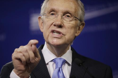 Harry Reid • D-Nev., Senate Majority Leader