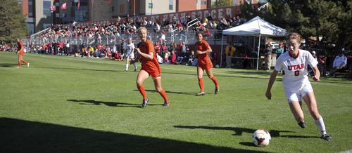 Utah Soccer vs. Oregon State October 6, 2013 in Salt Lake City.  Courtesy Steve C. Wilson  |  The University of Utah