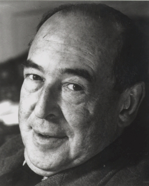 """**FILE**The late British author C.S. Lewis is shown in an undated file photo.  The recipient of a handwritten letter from Lewis, in which the author explains the meaning of his """"Chronicles of Narnia,"""" has donated it to Christian University in the author's hometown of Belfast, Northern Ireland.(AP Photo/file)"""
