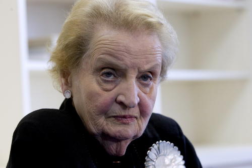 Madeleine Albright • Former Secretary of State