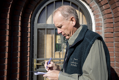 Lennie Mahler  |  Tribune file photo West Valley City mayoral candidate Ron Bigelow has financed his campaign mainly through the transfer of funds from his former legislative campaign account.
