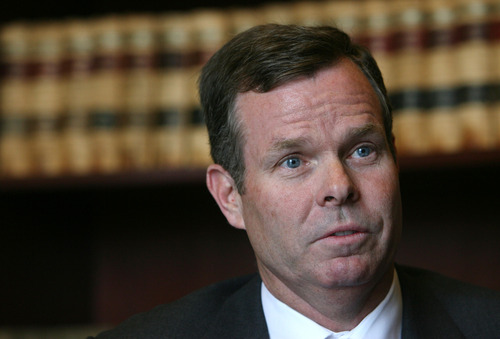 Steve Griffin | Tribune file photo Utah Attorney General John Swallow, through his lawyer, insists he never told Jeremy Johnson it was legal to process online-poker payments in the state.