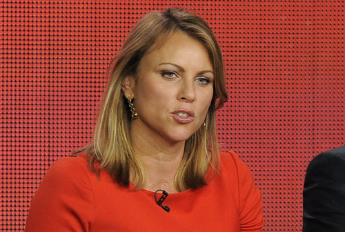 "FILE - In this Jan. 12, 2013 file photo, ""60 Minutes"" reporter Lara Logan takes part in a panel discussion at the Showtime Winter TCA Tour in Pasadena, Calif. CBS says it was misled by a ""60 Minutes"" source who claimed he was on the scene of a 2012 attack on the U.S. mission in Benghazi, Libya, when it turns out now that he was not there. Logan on Friday, Nov. 8, 2013 said that CBS apologizes to viewers and will issue a correction to its Oct. 27 story Sunday on ""60 Minutes.""  (Photo by Chris Pizzello/Invision/AP, File)"