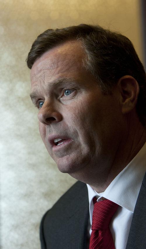 Steve Griffin   The Salt Lake Tribune Utah Attorney General John Swallow