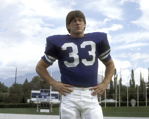 Mark A. Philbrick | Courtesy BYU Todd Christensen was the BYU player who went on to five Pro Bowls and two Super Bowl wins in the NFL. He died Nov. 13, 2013, of complications during a liver transplant. He was 57.