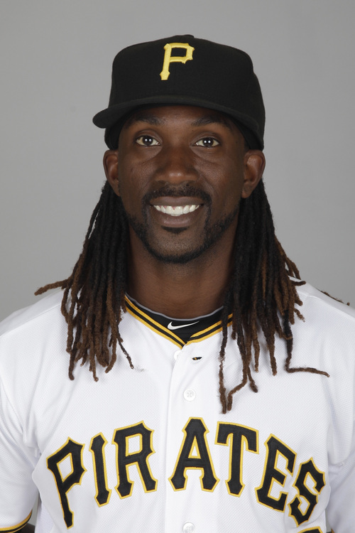 This is a 2012 photo of Andrew McCutchen of the Pittsburgh Pirates baseball team. This image reflects the Pirates' active roster as of Sunday, Feb. 26, 2012, when this image was taken. (AP Photo/Matt Slocum)