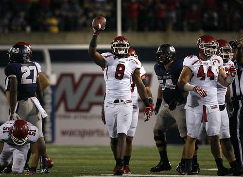 Scott Sommerdorf  |  The Salt Lake Tribune              Utah defensive end Nate Orchard (8) is being  counted on to have a big season in 2013.