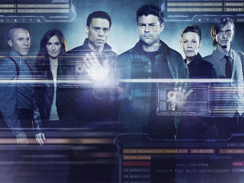 "| Courtesy Michael Irby, Minka Kelly, Michael Ealy, Karl Urban, Lilli Taylor and Mackenzie Crook star in the new Fox series ""Almost Human."""