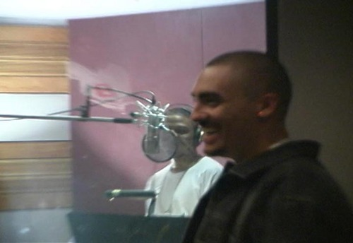 Weldon Angelos in the studio. A letter delivered today  to President Barack Obama asks the president to communte Angelos's 55-year sentence. Courtesy photo