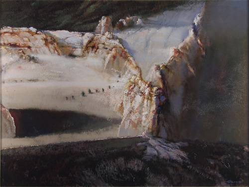 The Utah Museum of Fine Arts and the Salt Lake Art Center  offered a retrospective of the works of painter Doug Snow. (Courtesy of the Salt Lake Art Center)