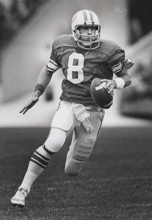 Steve Young, BYU quarterback.