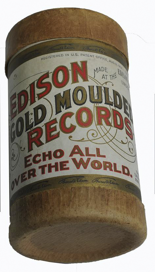 "This photo released Wednesday, Nov. 20, 2013 by the Saco River Auction Co., shows a tube containing a wax-covered cylinder etched with an 1893 recording of the song, ""Momma's Baby Black Boy,"" by the Unique Quartet, which is up for auction in Biddeford, Maine. It is one of two copies of the oldest known recording by a black vocal group in the U.S. (AP Photo/Saco River Auction Co.)"