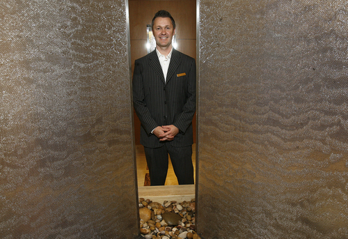 Scott Sommerdorf   |  The Salt Lake Tribune Tony Fountain, is the director of the Grand Spa, the luxurious spa at the Grand America Hotel.