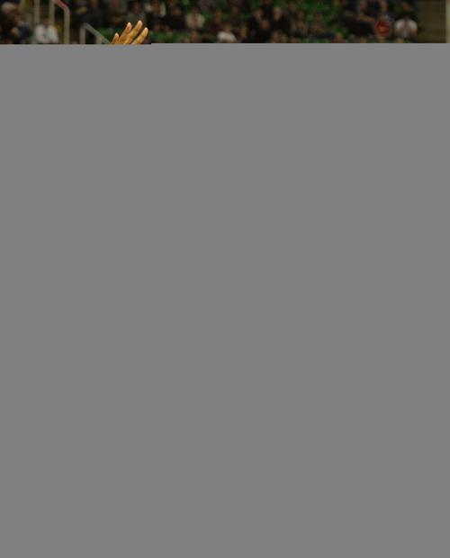 Rick Egan    The Salt Lake Tribune   Utah Jazz shooting guard Gordon Hayward (20) takes the ball past Houston Rockets power forward Terrence Jones (6), in NBA action, Utah Jazz vs. the Houston Rockets, at the EnergySolutions Arena, Monday, December 2, 2013.
