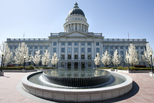 Steve Griffin   Tribune file photo  North facing side of the Capitol in Salt Lake City.