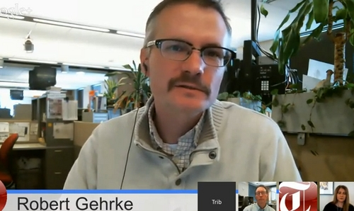 Tribune reporter Robert Gehrke on Trib Talk on Dec. 3, 2013.