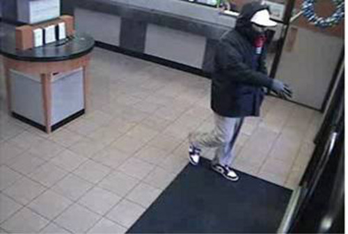   Courtesy The Salt Lake City Police Department was searching for a man Dec. 5 who held up a Chase Bank at 1295 S. Redwood Road.