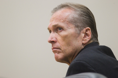 Spenser Heaps  |  Pool Martin MacNeill during his trial at 4th District Court in Provo in October. MacNeill, a Pleasant Grove physician, who was convictedby a jury of killing his wife Michele MacNeill in 2007, killed himself on Thursday.