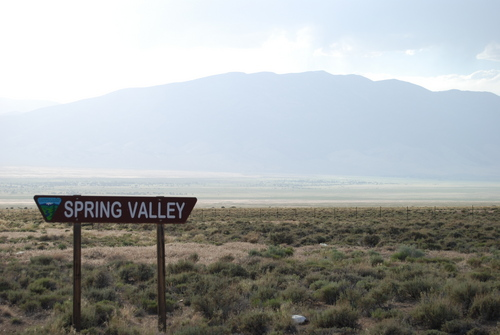 Brian Maffly  |  The Salt Lake Tribune  Views of Spring Valley from June, 2013.