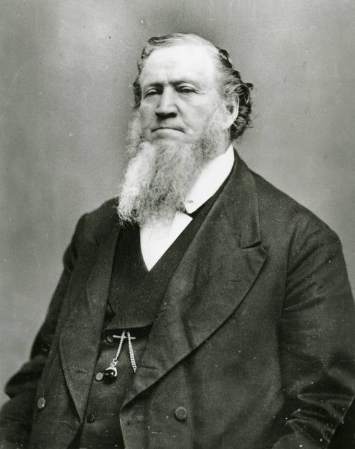 Brigham Young in the 1870s. Courtesy LDS Church Historical Department.