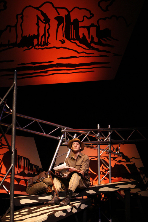 """Tribune file photo For many in the theater community, David Fetzer's most remarkable role might have been as Everett Ruess in Plan-B's 2008 production of """"The End of the Horizon."""""""