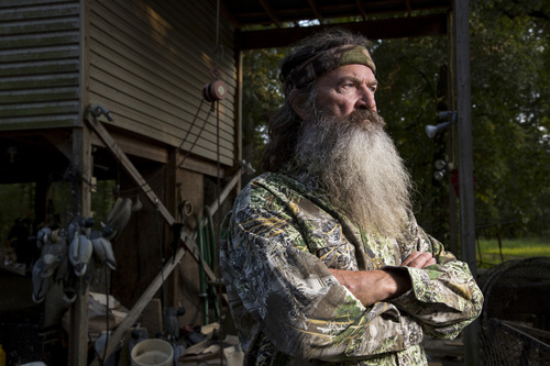 Phil Robertson, a star in the A&E hit series, 'Duck Dynasty,' has come under fire for comments about homosexuality during a magazine interview. (Photo courtesy of A&E Networks