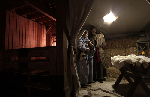 Leah Hogsten     The Salt Lake Tribune Celebrate the season by taking a step back in time at Candlelight Christmas while making crafts and homemade gifts and visiting with Father Christmas, reindeer, a live Nativity and the Heritage Village Carolers atThis Is the Place Heritage Park on Friday.