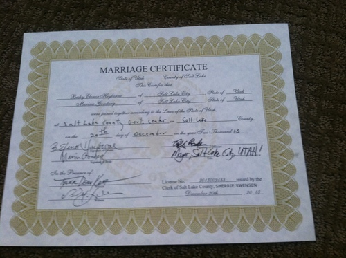 utah's first same-sex nuptials both historic and personal - the salt