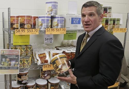 Mormon Food Storage Interesting Mormoncentric Utah Epicenter For Food Storage The Salt Lake Tribune