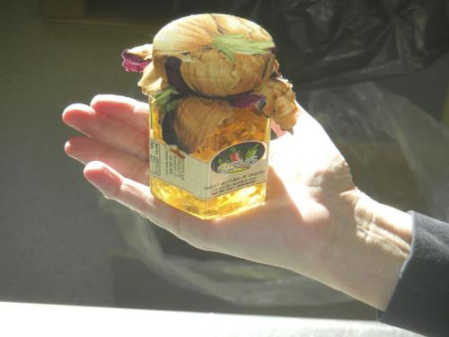 Pepperlane's Sweet Mother of Onion jelly preserves is a popular garnish on ribeye steaks. (Tom Wharton Photo)