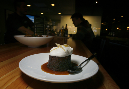 Scott Sommerdorf   |  The Salt Lake Tribune Top Utah dishes of 2013: The Porter gingerbread dessert at The Annex, a new gastropub by the same folks who own Epic Brewing.