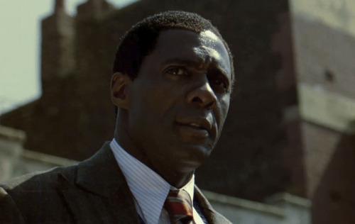 "Idris Elba portrays Nelson Mandela in the biography ""Mandela: Long Walk to Freedom."" Courtesy The Weinstein Company"