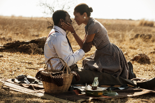 "Courtesy photo Idris Elba and Naomie Harris as Nelson and Winnie Mandela in ""Mandela: Long Walk to Freedom."""