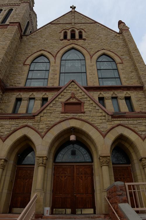 Scott Sommerdorf   |  The Salt Lake Tribune St. Joseph's parish in Ogden, Wednesday December 18, 2013.