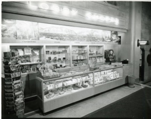 The Bigelow/Ben Lomond coffee shop. Courtesy of Weber State University, Stewart Library