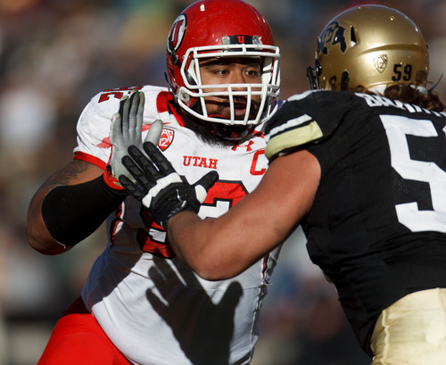 Trent Nelson  |  The Salt Lake Tribune Utah defensive tackle Star Lotulelei is expected to be among the top 10 picks in Thursday's NFL Draft, and could go in the top five.