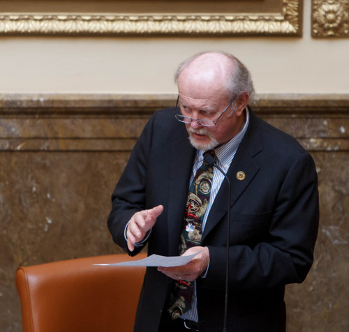 Trent Nelson     Tribune file photo Rep. Larry Wiley, D-West Valley City, is proposing tighter regulation of payday loan companies.