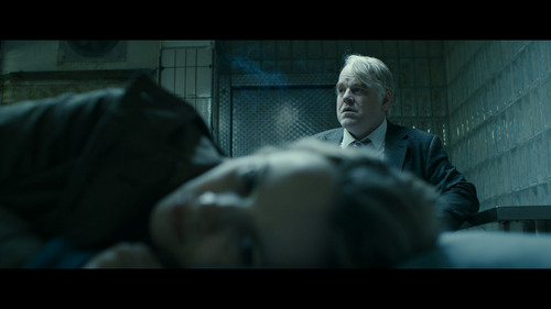 """Philip Seymour Hoffman and Rachel McAdams in """"A Man Most Wanted."""" Courtesy Sundance Institute"""
