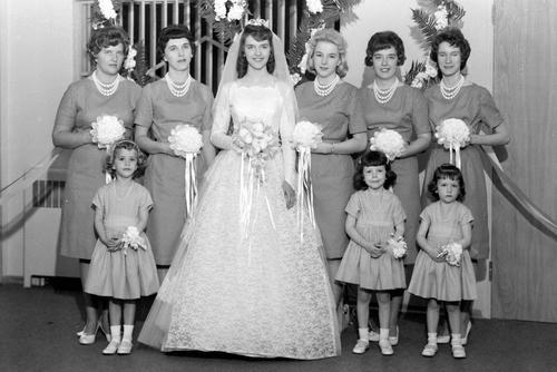Courtesy Utah State Historical Society Ashton Wedding, approx. 1950