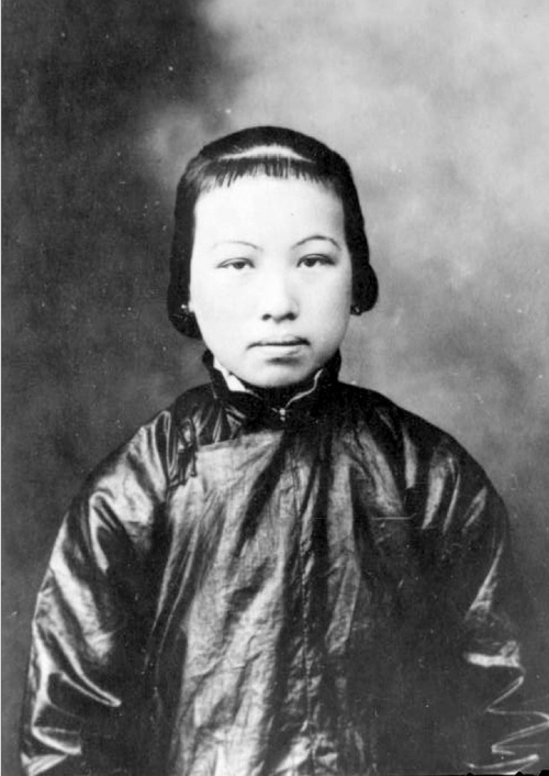 (Courtesy Utah State Historical Society)  Seto Shee at age 16 in Canton, China, before coming to Ogden as the bride of Wing Louie.