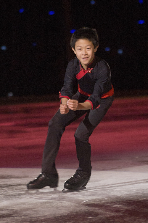 Courtesy photo Utahn Nathan Chen is one of the top figure skaters in the nation.