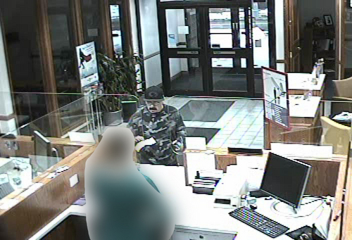 | Courtesy Unified Police Salt Lake Unified Police were hunting a serial bank robber Jan. 11 that they say has hit six banks in just over a month.
