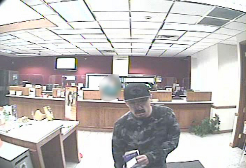 | Courtesy Unified Police Salt Lake Unified Police were hunting a serial bank robber Jan. 11 that they say has hit six times in just over a month.